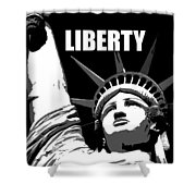 Liberty Classic Work A Shower Curtain