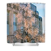 Liberty Court House Shower Curtain