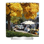 Liberty Farmers Market Shower Curtain
