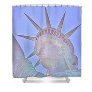 Liberty Glows Shower Curtain