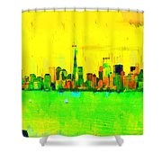 Liberty In New York - Pa Shower Curtain