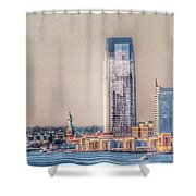 Liberty In The Distance Shower Curtain