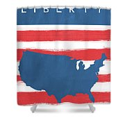 Liberty Shower Curtain by Linda Woods