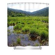 Liberty Marsh Shower Curtain