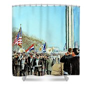 Liberty Memorial Kc Veterans Day 2001 Shower Curtain