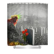 Liberty Remembers You Shower Curtain