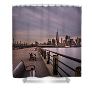 Liberty State Park Shower Curtain