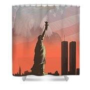 Liberty2 Shower Curtain