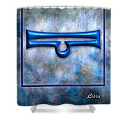 Libra  Shower Curtain