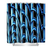 Library Abstract Shower Curtain
