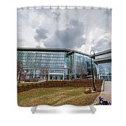 Library At The University Of North Carolina School Arts Shower Curtain