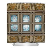 Library Of Congress Ceiling  Shower Curtain