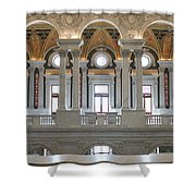 Library Of Congress IIi Shower Curtain