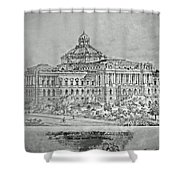 Library Of Congress Proposal 3 Shower Curtain