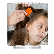 Lice In Head Shower Curtain