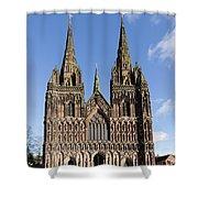 Lichfield Cathedral Shower Curtain
