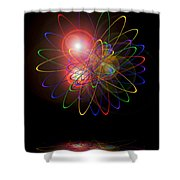 Light And Energy Shower Curtain