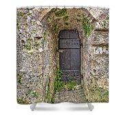 Lichtenstein Castle Door Shower Curtain
