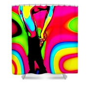 Lick My Boots Shower Curtain