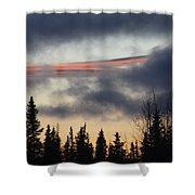 Licorice In The Sky Shower Curtain