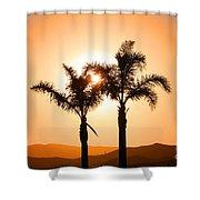 Lidia's World Part IIi Shower Curtain