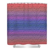 Lie Detector Abstract Design Shower Curtain
