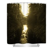 Liesijoki 3 Shower Curtain