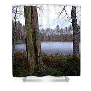 Liesilampi 2 Shower Curtain