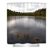 Liesilampi Shower Curtain