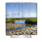 Lieutenant Island No.1 Shower Curtain