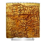 Life - Tile Shower Curtain
