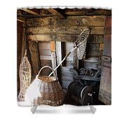 Life Aboard The Mayflower 2 Shower Curtain
