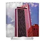 Life And Casulty Tower - Nashville, Tennessee Shower Curtain