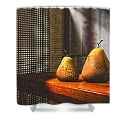 Life As A Pear Shower Curtain