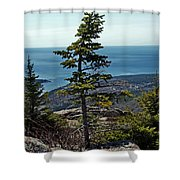 Life At 1530 Feet Absl Shower Curtain