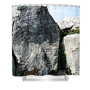 Life At Creevykeel Court Cairn Sligo Ireland Shower Curtain