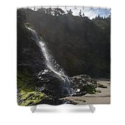 Life At The Coast Shower Curtain