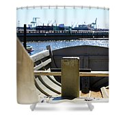 Life Boat 4 1 Shower Curtain