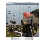 Life Boat Station Shower Curtain
