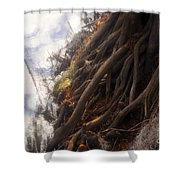 Life By The River Shower Curtain by David Lee Thompson