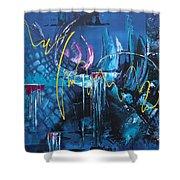 Life Energy Shower Curtain