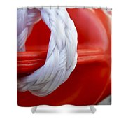 Life Guard 	 Shower Curtain