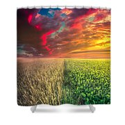 Life In Abundance  Shower Curtain