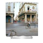 Life In Cuba Shower Curtain