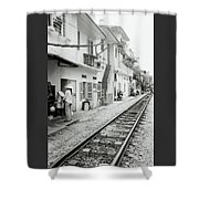 Life In Hanoi Shower Curtain