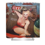 Life In The Fifties Shower Curtain