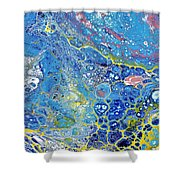 Life In The Ocean   Shower Curtain