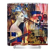 Life In The Past Shower Curtain
