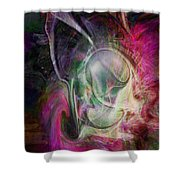 Life In Your Soul Shower Curtain