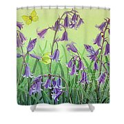 Life Is Everwhere Shower Curtain